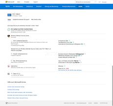 si e de microsoft microsoft konto webseite zeigt mehr informationen über windows 10