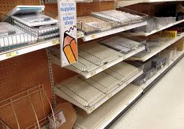 Shelving At Target by Expect More Empty Shelves Frustrate Target Customers Execs