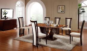 contemporary formal dining room sets rectangular glass top top