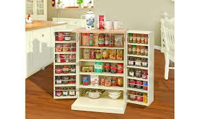 buy country kitchen freestanding pantry cabinet at mailshop co uk