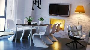 Yellow Dining Room Ideas Black White Yellow Dining Room Interior Design Ideas