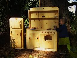 Pretend Kitchen Furniture Wooden Play Kitchens For Kids