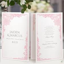 Print Your Own Wedding Programs Wedding Templates For Word Download Edit And Print Your Own