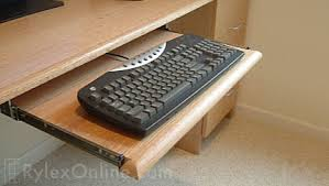Computer Desks With Keyboard Tray Desk Keyboard Tray Newburgh Ny Rylex Custom Cabinetry Closets