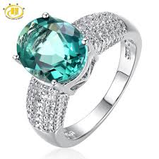 fine gemstone rings images Buy hutang cocktail ring big natural green jpg