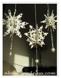 317 best esferas snowflakes canas crochet images on