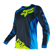 youth motocross gear clearance fox racing 2016 youth 180 race jersey blue yellow available at