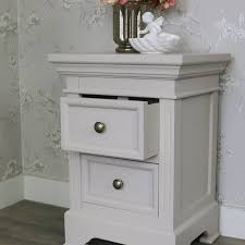 two drawer bedside table 2 drawer antique white bedside table daventry grey melody maison