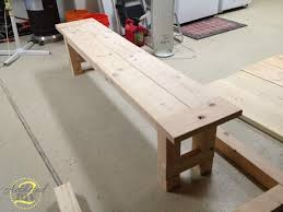 Farm Tables With Benches Diy Farmhouse Table With Extensions Addicted 2 Diy