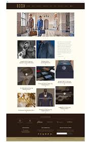 uomo group luxury menswear website design and development