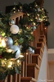 Banister Decor 40 Gorgeous Christmas Banister Decorating Ideas Christmas