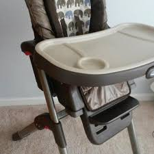 Bye Bye Baby High Chairs Find More Graco Duo Diner 2 In 1 High Highchair In Used Condition