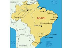 map of brazil brazil map blank political brazil map with cities