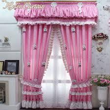 vorhã nge fã r schlafzimmer aliexpress helen vorhang neue rosa vorhänge für