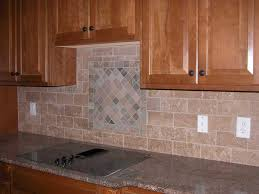copper brown granite countertops purple glass mosaic tiles kitchen