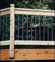 tarheel wood treating co deckorators aluminum deck balusters
