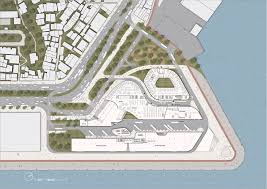 building site plan gallery of joint office building and passenger cargo terminal
