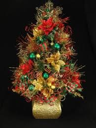 Small Tabletop Decorated Christmas Trees by Fully Decorated Christmas Trees Fully Decorated Mini Tabletop