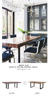 Dining Room Table And Chairs by Best 25 West Elm Dining Table Ideas Only On Pinterest Pendant