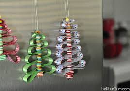 diy easy ribbon bead tree ornament