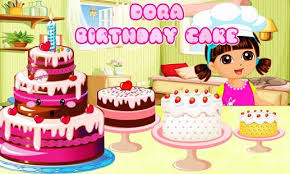 dora yummy princess birthday cake game android apps google play