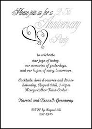 Words For Anniversary Cards Finding The Right Wedding Anniversary Invitation Wording