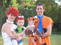Flintstones Halloween Costumes Coolest Homemade Flintstones Family Costume Flintstones Costume