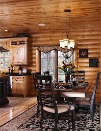 modern log home interiors photos of a modern log cabin house kitchen design log cabin