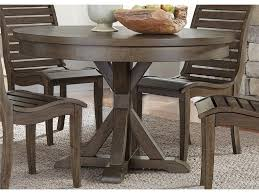 liberty furniture dining room 7 piece trestle table set 185 cd