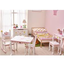 Guidecraft Princess Table And Chairs Amazon Com Fantasy Fields Princess U0026 Frog Thematic Kids Vanity