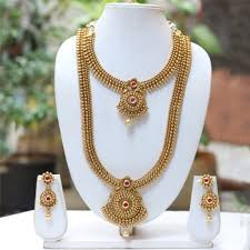ethnic necklace design images Buy le0000000056 latest antique design necklace online from look jpeg