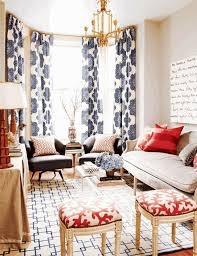 Blue Ikat Curtain Panels Blue Ikat Curtain Panels Search With Orange Pillows And
