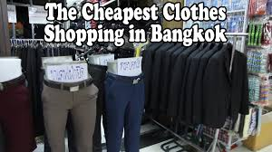 Nice Clothing Stores For Women The Cheapest Clothes Shopping In Bangkok Bobae Market A Tour Of