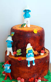 the smurfs 197 best smurf cakes images on pinterest the smurfs amazing