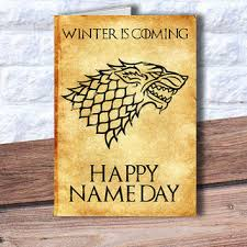 of thrones birthday card of thrones birthday card happy name from printtransfer on