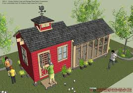 Yard Sheds Plans by Home Garden Plans Cb211 Combo Chicken Coop Garden Shed Plans