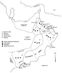 Map Of Oman Gastro Intestinal Parasites Of Livestock In Oman