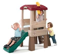 amazon com step2 naturally playful lookout treehouse toys