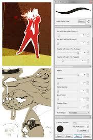 caw art sketchbook pro brush settings
