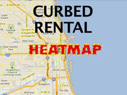 Chicago Community Map by Expanded The Curbed Chicago Rental Heatmap