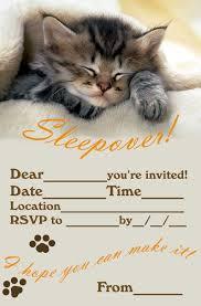 sleepover invitations free printable sleepover slumber party