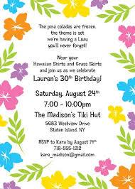 hawaiian theme party invitation template u2013 orderecigsjuice info