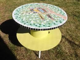 Petite Table De Jardin Ikea by Fabriquer Une Table De Jardin En Mosaique Jsscene Com Des