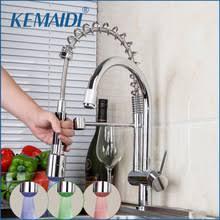 led kitchen faucet led kitchen tap promotion shop for promotional led kitchen tap on