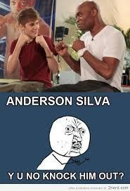 Anderson Silva Meme - anderson silva ko beiber please 2 nerd 2 nerd2 nerd