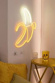Neon Signs For Bedroom Banana Neon Sign Urban Outfitters