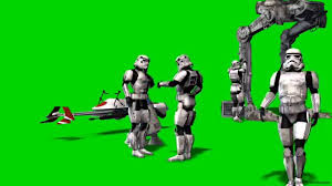 star wars green screen szene
