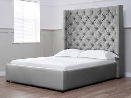 innovative double bed headboard with appealing white headboard