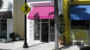 Pub Awnings Palm Beach Cites Le Macaron Shop For Awning Color Switch