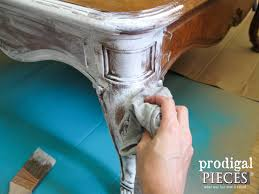 Whitewash Coffee Table Coffee Table Makeover With French Country Style Prodigal Pieces